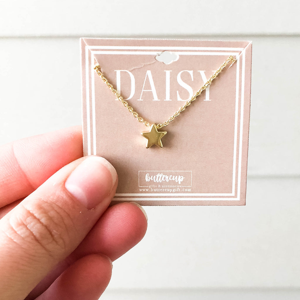 Daisy 'Cross' Necklace