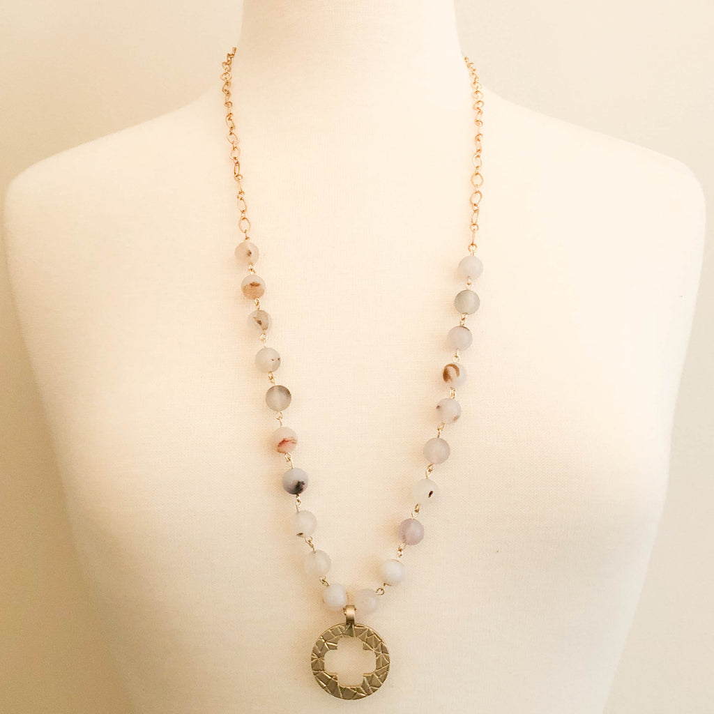 Willow Circle Necklace