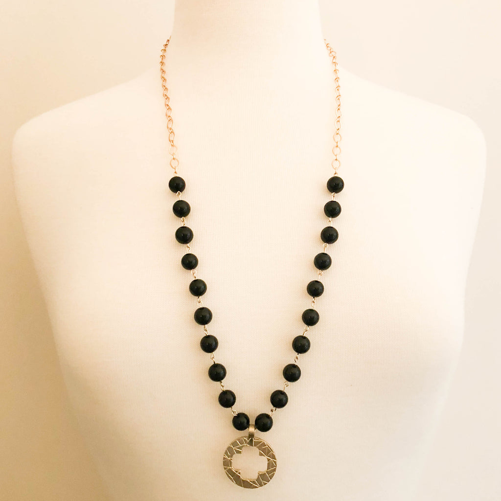 Dusk Circle Necklace