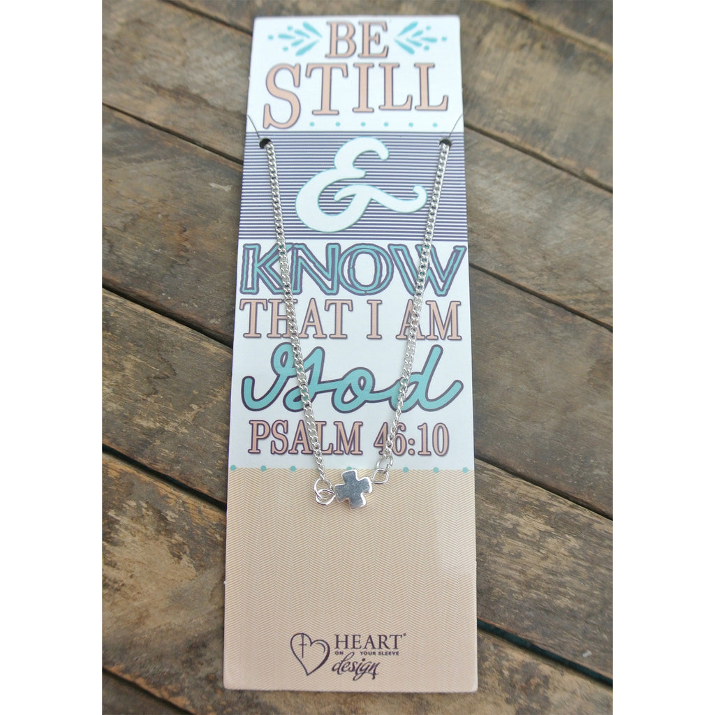 Be Still Bible Journaling Necklace