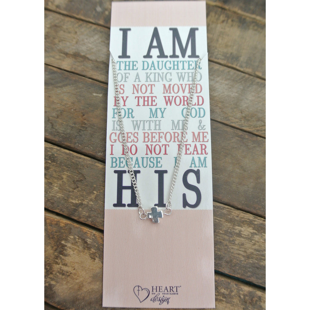 I Am His Bible Journaling Necklace