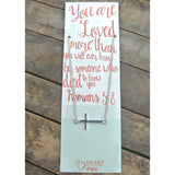You Are Loved Bible Journaling Necklace