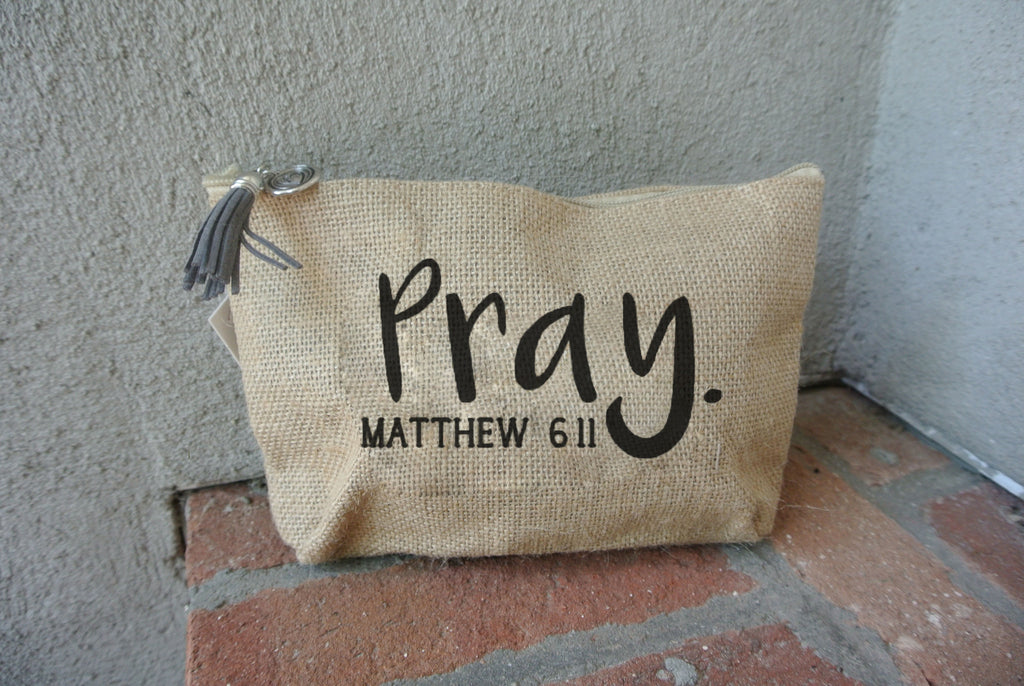 Pray Jute Everything Bag
