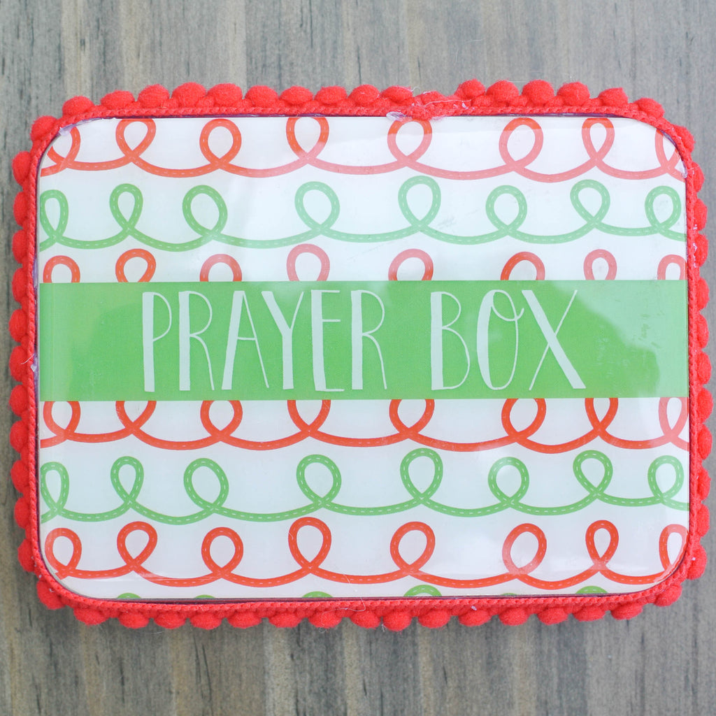 Swirly Christmas Blessing Box