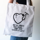 Nurse Canvas Tote
