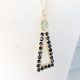 Dusk Triangle Necklace