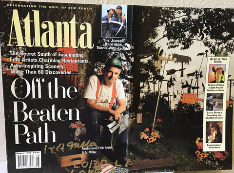 R. A. Miller Atlanta Magazine Cover - Traditional Art Limited