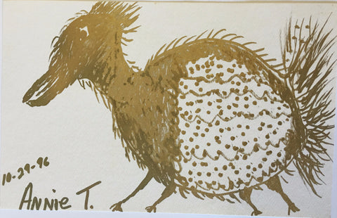 "Annie Tolliver Drawing ""Bird"" - Traditional Art Limited"