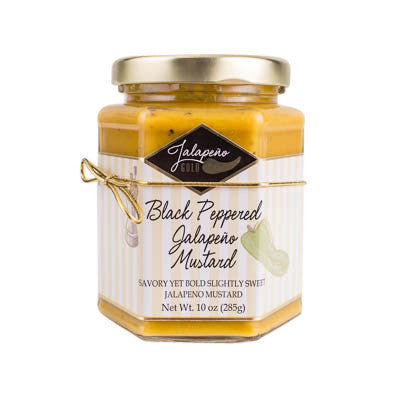 Jalapeno Black Peppered Mustard