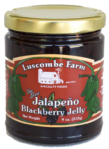 Jalapeno Blackberry Jelly
