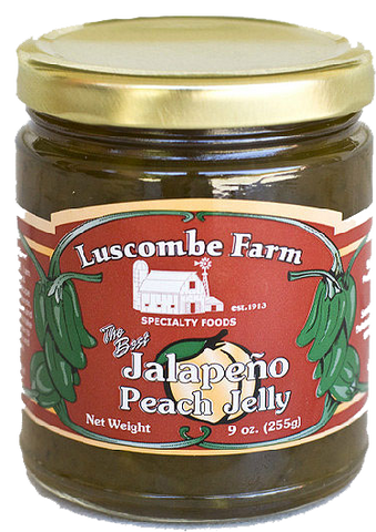 Jalapeno Peach Jelly
