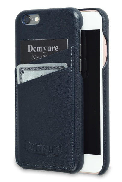 iPhone 6 leather card case by Demyure