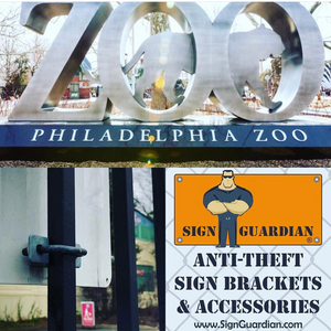 Philadelphia Zoo - Ornamental Fence Sign Bracket