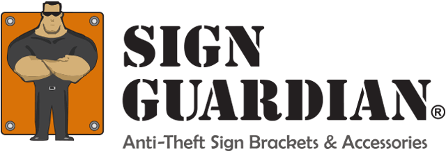 Sign Guardian, Anti-Theft Sign Brackets