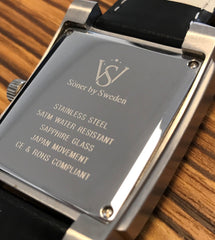Men's watches with high quality and rectangular design - Söner by Sweden