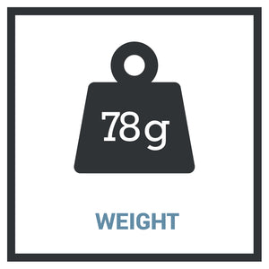 Icon - 78 Grams of Weight