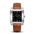 SQUARE MEN'S WATCH - LEGACY I Brushed steel - Black dial