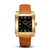 SQUARE MEN'S WATCH - LEGACY N Brushed gold - Black dial