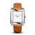 SQUARE MEN'S WATCH - LEGACY Q Polished steel - White dial