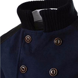 Coat Turn-down Collar