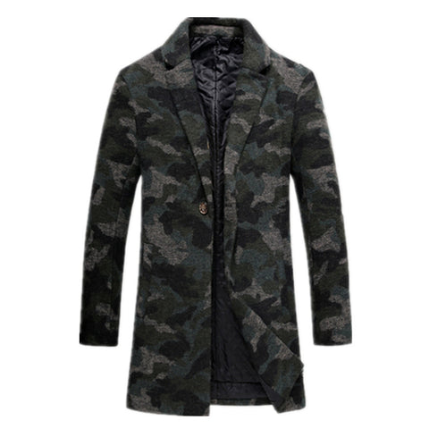 Stylish Camo Coat