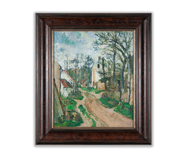 Cezanne textured reproduction