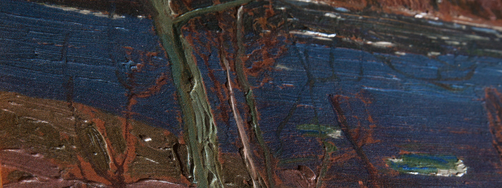 Opening of the Rivers, by Tom Thomson Painting Close Up