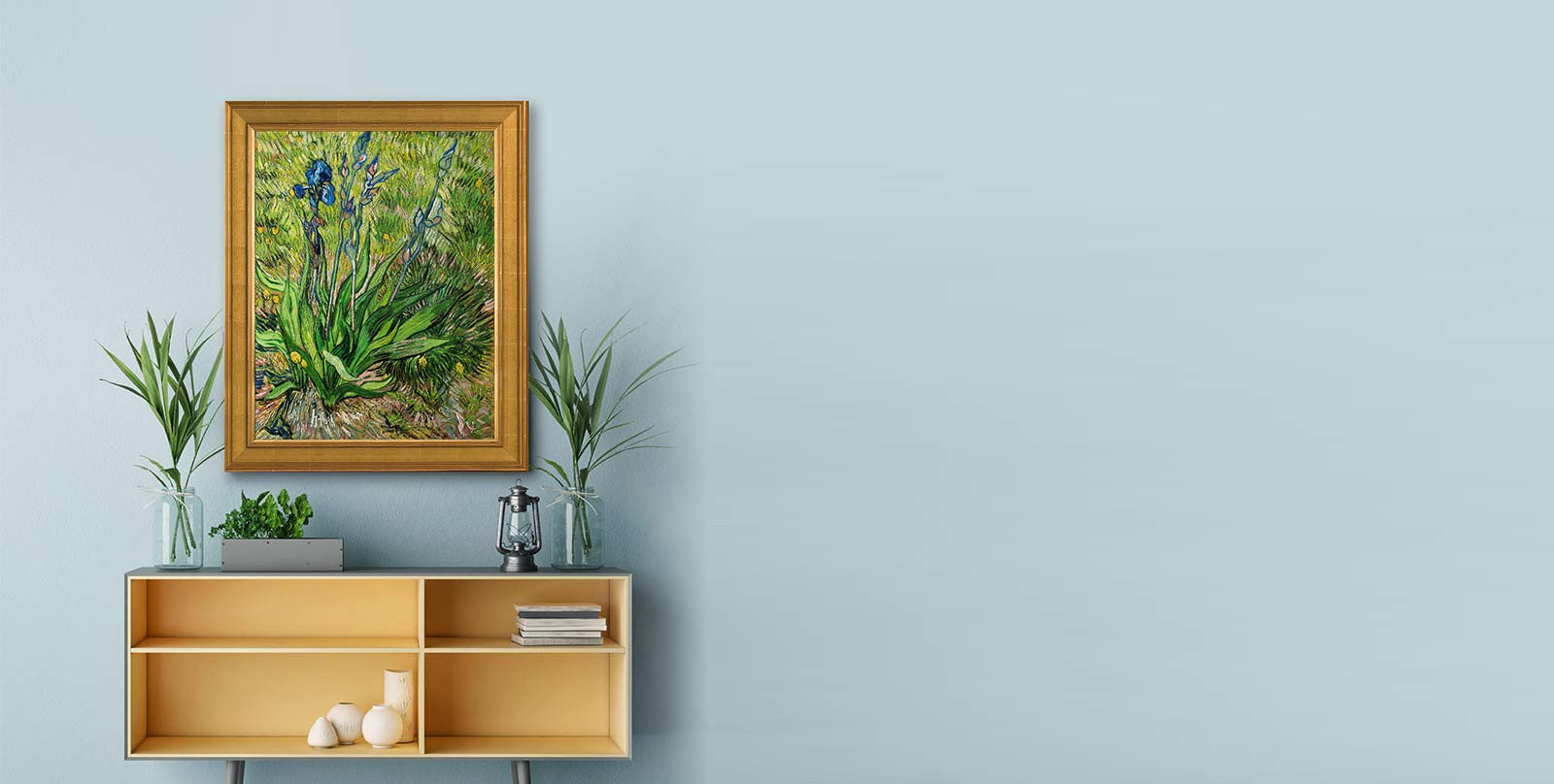 Van Gogh Iris Reproduction Decor