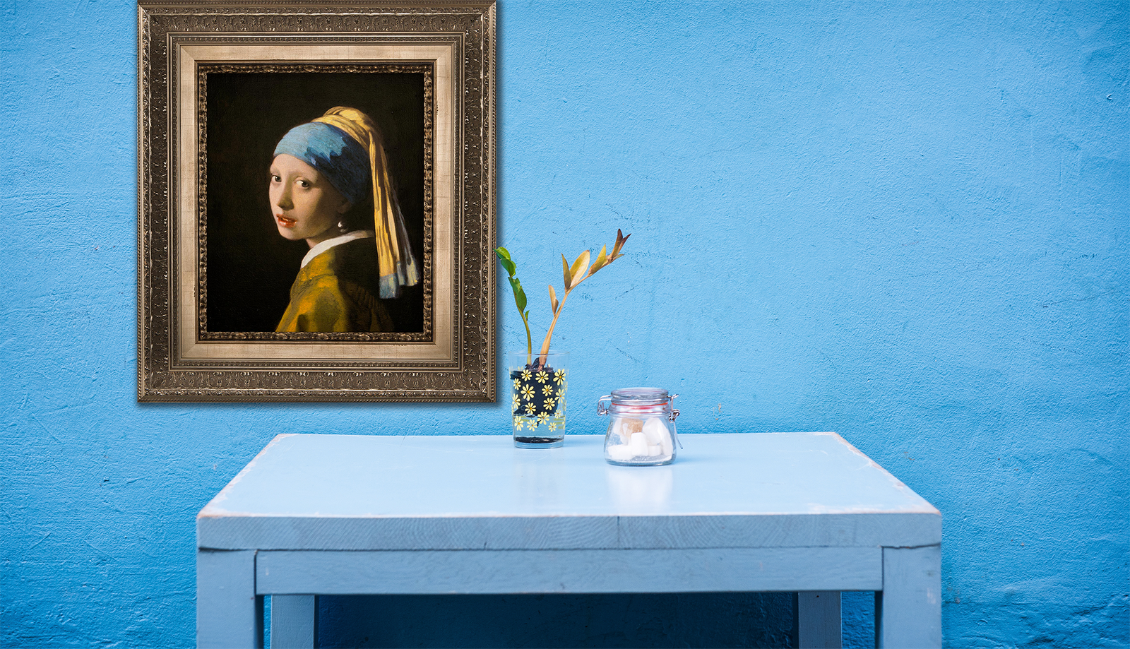 Girl with a Pearl Earring 3D Reproduction