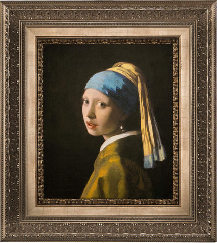 Girl with a Pearl Earring 3D Limited Edition Reproduction