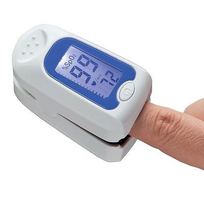 Digital LCD Display Fingertip Pulse Oxigenmeter Measurer
