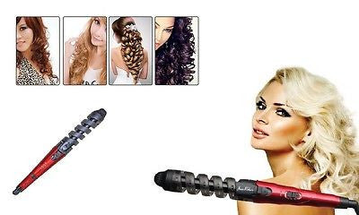 Curlicue Spiral Shape Hair Curling Iron Styling Tool