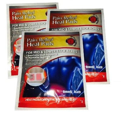 Therapy Heating Pads for Pain Relief Patch 3 Pack
