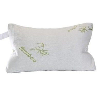 Bamboo Memory Foam Pillow Comfort Hypoallergenic Organic Hotel Pillows