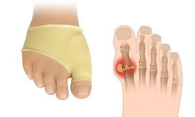 Big Toe Protectors with Gel Bunion Ease Pair Prevent Surgery Foot Pain