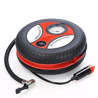 Car 12v Air Compressor Autotech Mini Portable