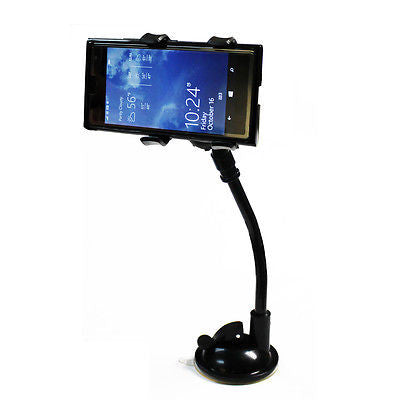 Universal Flexible Soft Tube Mobile Phone Car Lazy Stand Clip Holder