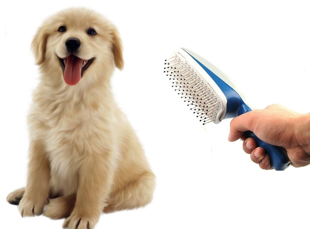 Ionic Pet Dog Cat Fur Hair Care Grooming Brush