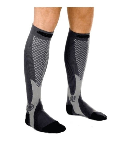 5 -pack 10 PRESSURE POINTS COMPRESSION THERAPY SOCKS For Running, Athletic Sports, Crossfit, Flight Travel (Men & Women)