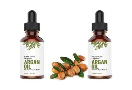 Aria Starr Beauty ORGANIC Argan Oil For Hair, Skin, Face, Nails, Beard & Cuticles -