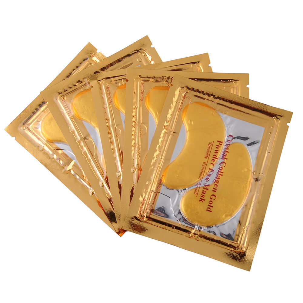 High Quality Gold Crystal Collagen Under Eye Masks/ Eye Patch   (20 pack)
