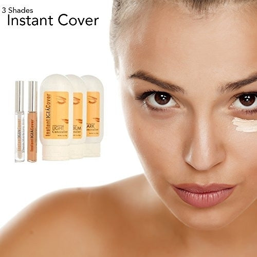 Instant Cover FX Professional Makeup Concealer in 3 Shades (5- Piece Set)