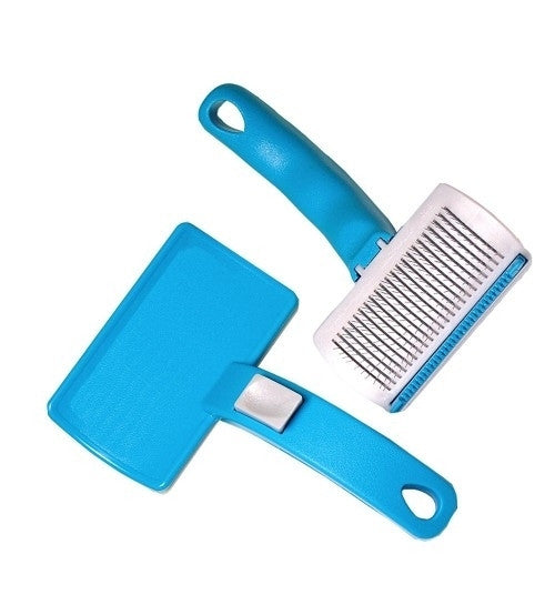 Premium Animal Heaven Ionic 3 In 1 Pet Grooming Shed Away Brush
