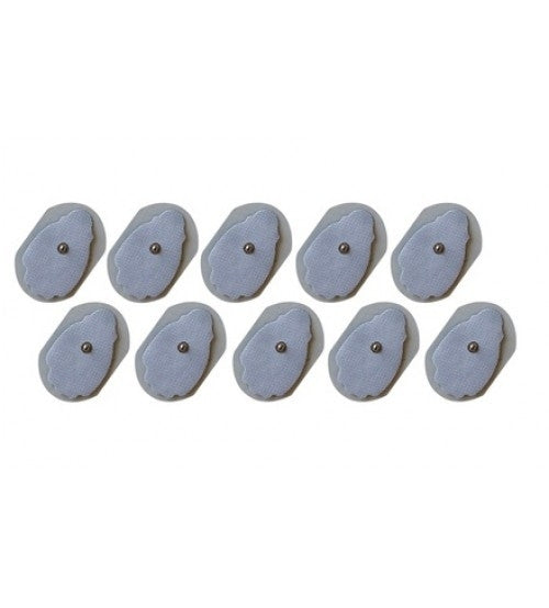 10 pack Universal EMS Snap-On Replacement Pads Relieve All Muscle Pain And Tension