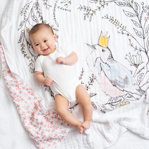 Aden and Anais Birdsong Dream Blanket