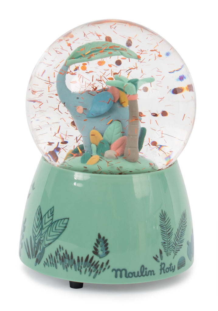 Jungle  Musical Snow Globe