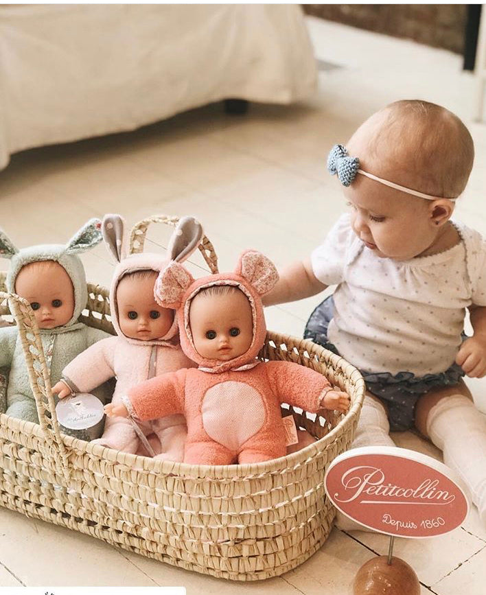 Dolls Moses Basket - 20 inch