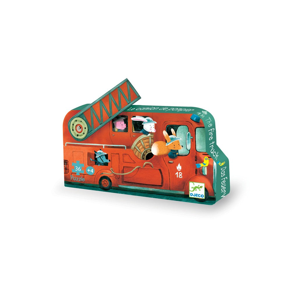 Djeco Fire Engine Puzzle