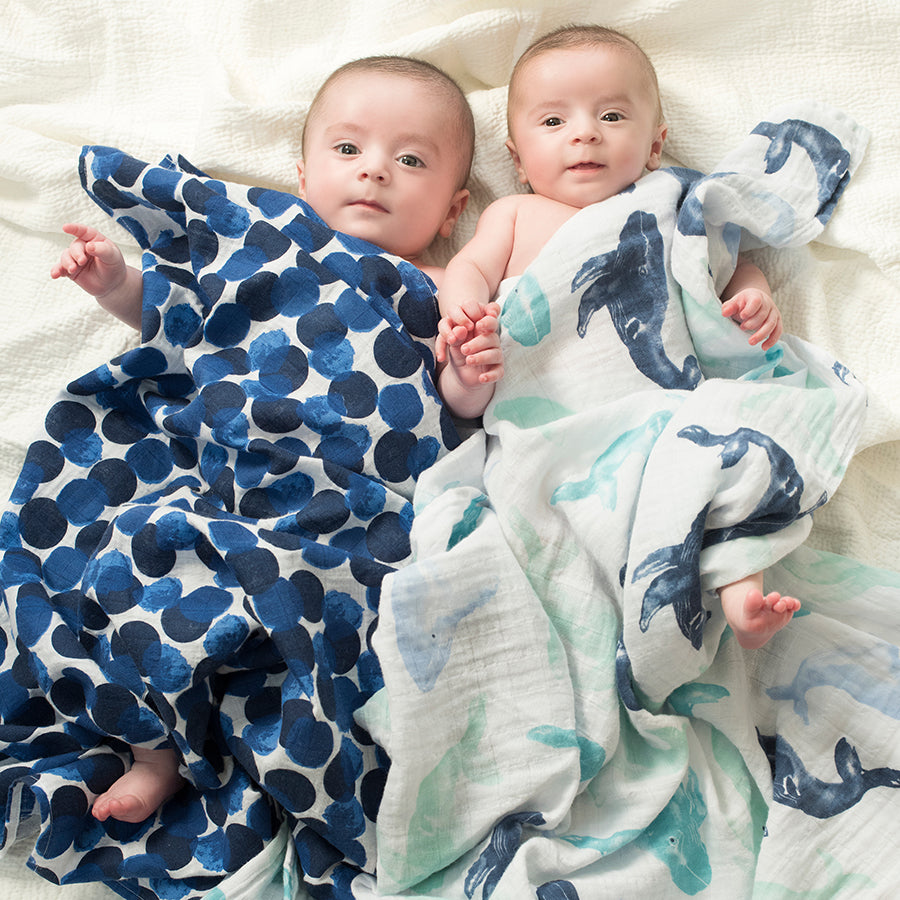 Aden & Anais Seafarer 4 pack baby classic swaddles