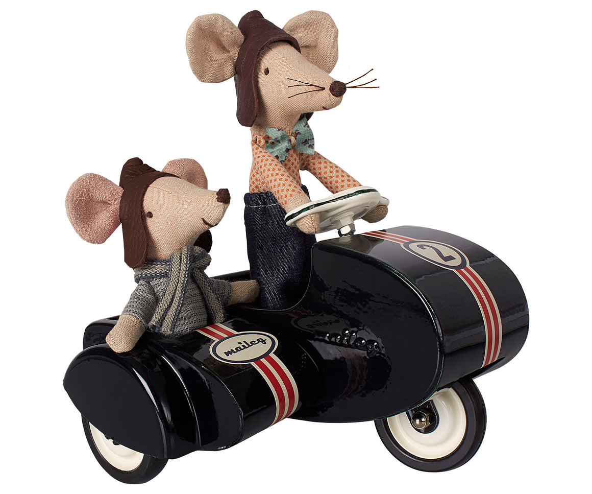 Maileg Dad Racer Mouse